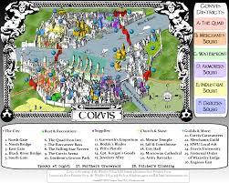 Tcc Map City Of Corvis Map Imagens Para Os Reinos De Ferro Iron Kingdoms
