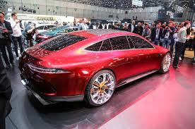 mercedes amg concept mercedes amg gt concept to production in 2019 autocar