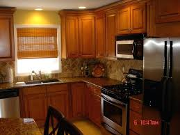 kitchen color schemes with walnut cabinets kitchen color schemes