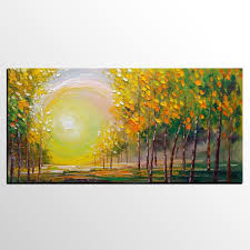 Painting Livingroom oil painting living room wall art landscape painting abstract
