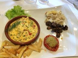 hote de cuisine my vegetarian menu had a vegetable flan delicious ร ปถ ายของ