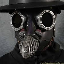 Steampunk Gas Mask Plague Doctor Mask Costume For Sale