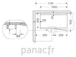 meuble cuisine angle bas meuble bas de cuisine d angle dn 110 np