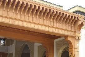 Les Fauteuils Marocains L U0027artisanat Marocain Les Plafonds En Bois Ou Platre Plafond Platre