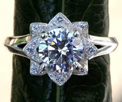 flower shaped rings images Flower shaped engagement ringsengagement rings engagement rings jpg
