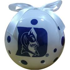 duke blue devils college ornaments ncaa
