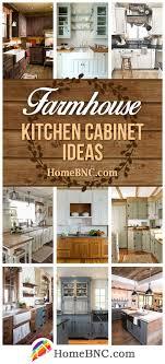 New Kitchen Cabinet Designs 35 Best Farmhouse Kitchen Cabinet Ideas And Designs For 2018
