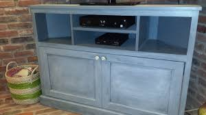 how to build a tv cabinet free plans ana white corner tv stand diy projects