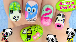 animals nail art 5 nail art designs in this nail tutorial i