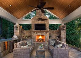 Outdoor Chimney Fireplace by Trending Now 15 Fire Pits And Outdoor Fireplaces To Warm Up By