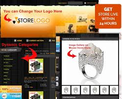 ebay store design template in stylish black u0026 orange theme ebay