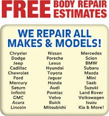 Auto Paint Shop Estimates by Automotive Shop Collision Paint Repair Sullivan Auto