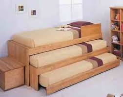 Pallet Bunk Bed Oh Yeah Easy I Can Make This Projects by Pallets 3 Tier Beds Great For Sleep Overs Dunway Enterprises