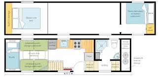 2 bedroom with loft house plans our layout ideas mitchcraft tiny homes