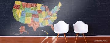 North America Wall Map by North America Map Murals Murals Your Way
