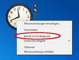 afficher l horloge sur le bureau windows 7 afficher l horloge de bureau pour windows 7 voici comment