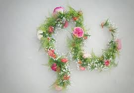 floral garland floral garland silk flower garland floral table runner wedding