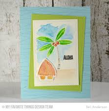 Tiki Hut Paradise 158 Best Mft Polynesian Paradise Images On Pinterest Mft Stamps