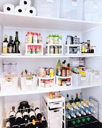 styled kitchen pantry with freestanding wine racks transitional