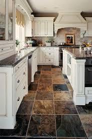 Ideas For Kitchen Floor Outstanding Best 25 Slate Kitchen Ideas On Pinterest Floor