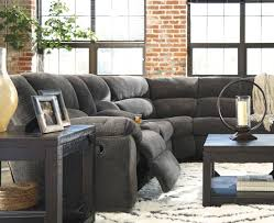 Wyatt Sectional Sofa by Timpson Slate Reclining Sectional From Ashley Coleman Furniture