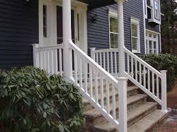 vinyl deck u0026 stair railings