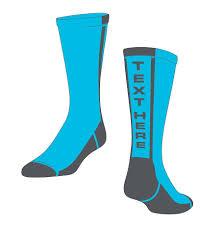 personalized socks buy personalized custom socks in any color logo socksrock