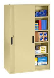 Yellow Metal Storage Cabinet Sliding Door Storage Cabinet Metal Storage Cabinet For Sale