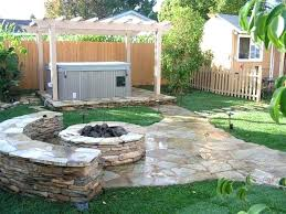 Patio Landscape Design Landscape Small Backyard Country Style Landscape Design Small