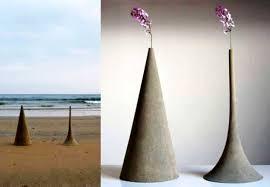 Sand Vase Made Of Sand Decorative Vases By Yukihiro Kaneuchi Adding Japanese
