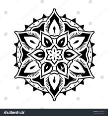 decorative mandala style ornaments stock vector 593076533