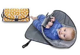 portable diaper changing table amazon com snoofybee portable clean hands changing pad 3 in 1