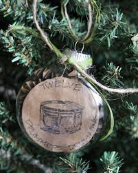ornaments to tell a story like the 12 days of