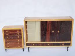 Schlafzimmerm El Set Diepuppenstubensammlerin Puppenmöbel Hermann Rülke Doll Furniture