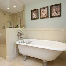 bathroom designs with clawfoot tubs clawfoot tub separate shower design ideas pictures remodel and tag