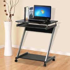 corner computer desk for small spaces corner computer desk small spaces on castors pc table bedroom home