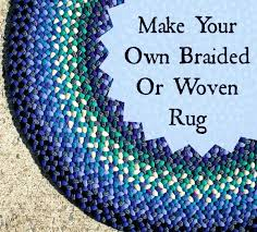 keep busy this winter make your own braided and woven rugs mom