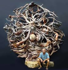 cedar wood sculpture 55 amazing wooden sculptures photos hongkiat