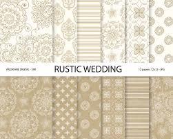 rustic wedding scrapbook rustic digital paper kraft digital paper wedding digital