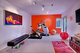 workout room ah i u0027d love to have a room like this in my house