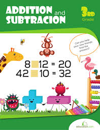 addition and subtraction practice workbook education com