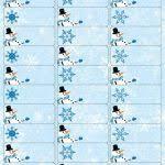 free printable christmas labels templates christmas address with