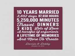 ten year wedding anniversary gift 10 year anniversary gift 10 year wedding anniversary you 16 year