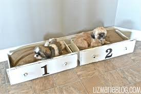 Dog Bed Nightstand 26 Best Diy Pet Bed Ideas And Designs For 2017