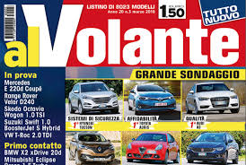 listino prezzi al volante alvolante 400 mila le copie di tiratura per il numero di marzo