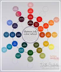 the color wheel part 1 an announcement distress ink color