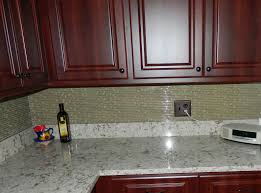 Kitchen Backsplash Cherry Cabinets by After Cherry Cabinets With Cambria Windemere Countertops And A