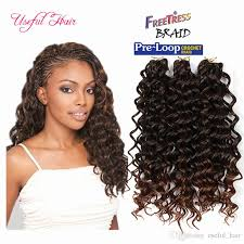 crochet braids with bohemian hair 2018 synthetic deep wave style freetress water wave hair crochet