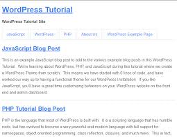 how to create custom templates for wordpress pages web