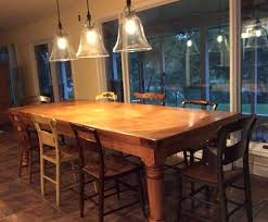 10 ft farmhouse table emejing 10 foot dining room table ideas rugoingmyway us